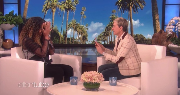Naomi Osaka on The Ellen DeGeneres Show